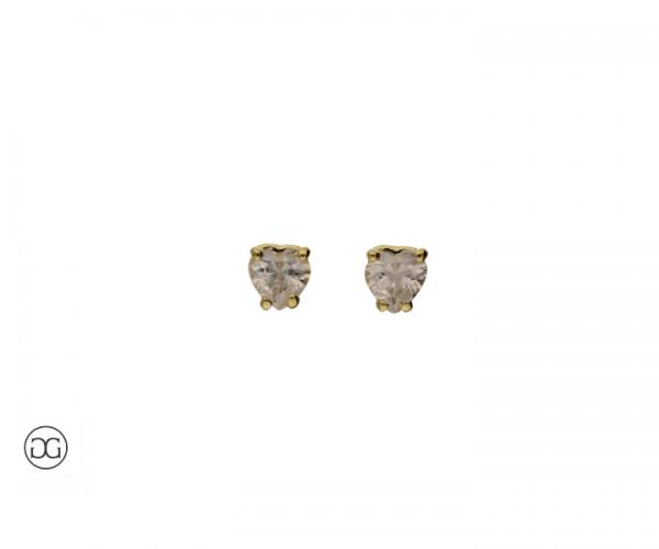Ohrstecker Diamant Herzschliff 0,40ct