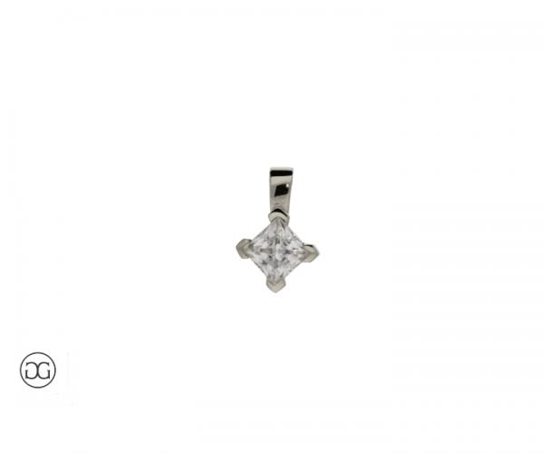Diamant-Anhänger Berlin Diamant 0,27ct
