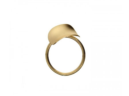 Antiklastische Ringe in Gold