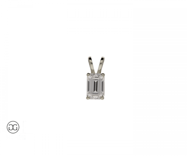 Diamant-Anhänger Dresden Diamant 0,50ct