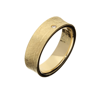 Bandring_Trauringe-Hohlkehle-Gelbgold-585-Brillant-0-02ct